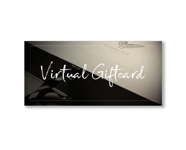 Virtual Giftcard | Ballet Fashion for Adults | Ballet Clothes | BALLETONIST