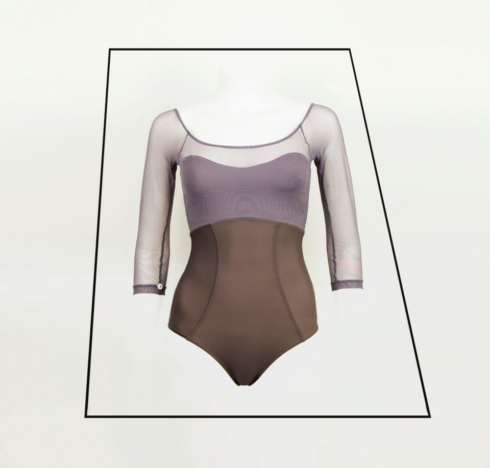 Premium Leotard with mesh sleeves | Luxury Leotards for Adults | BALLETONIST