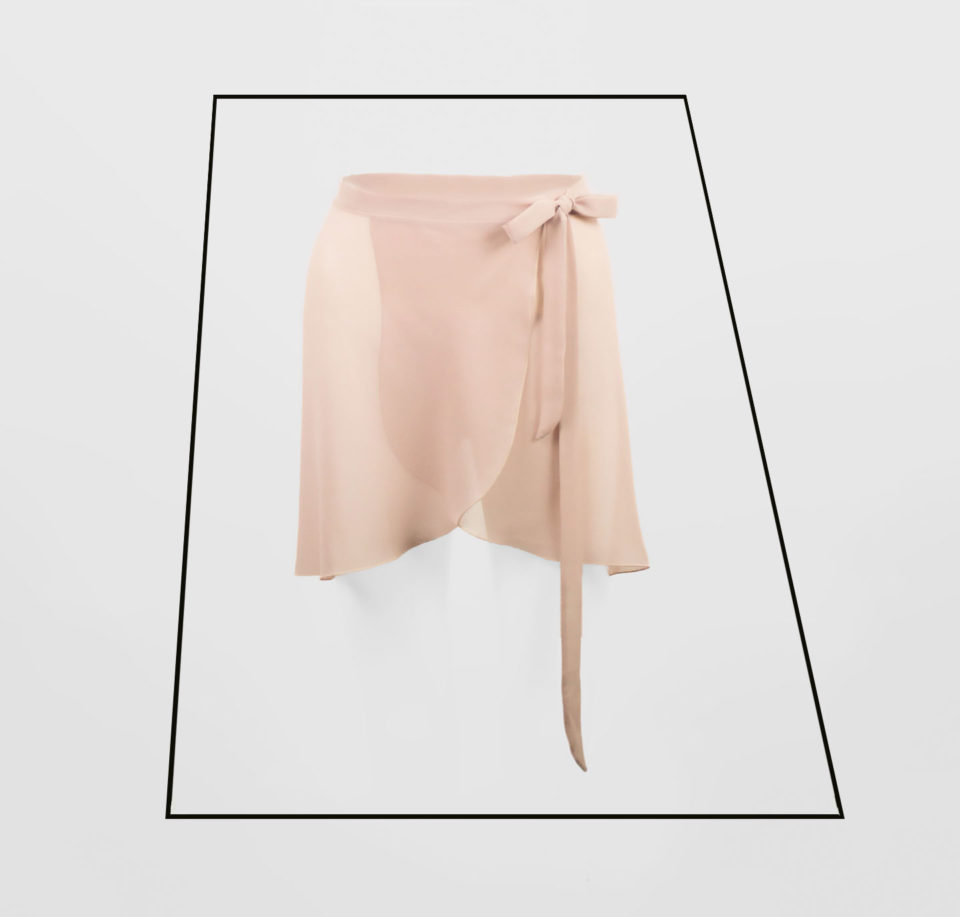 Ballet Skirt Georgette | Ballet Dance Fitness | BALLETONIST
